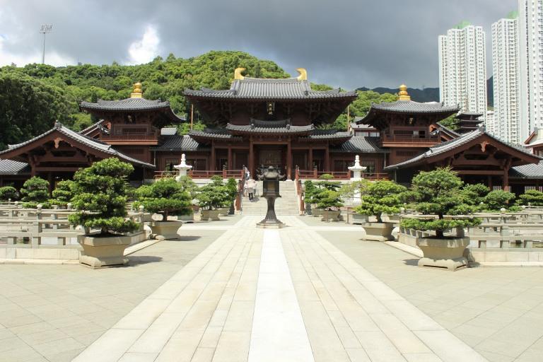 Fried Green Kimchi - Hong Kong Nan Lian Garden