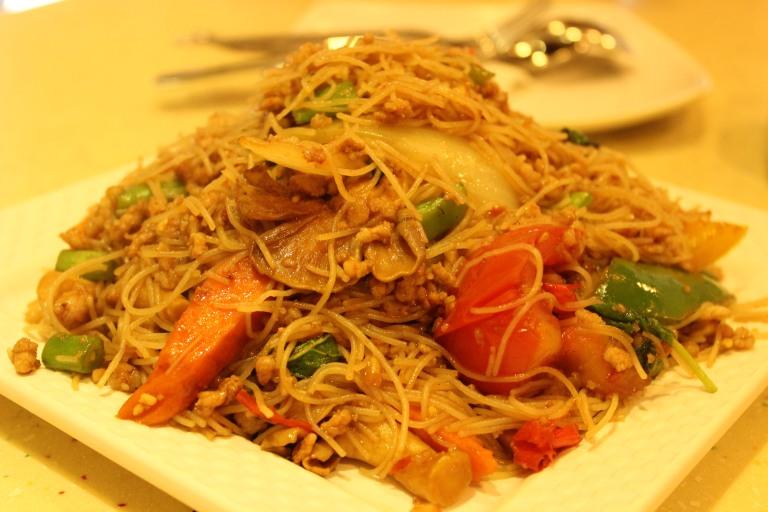 Fried Green Kimchi - Hong Kong Lucky Thai Restaurant Kowloon