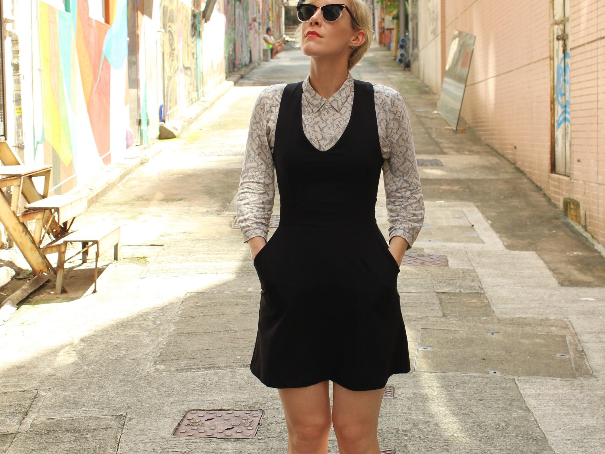 That's me, Lauren, looking all cool in Hong Kong!