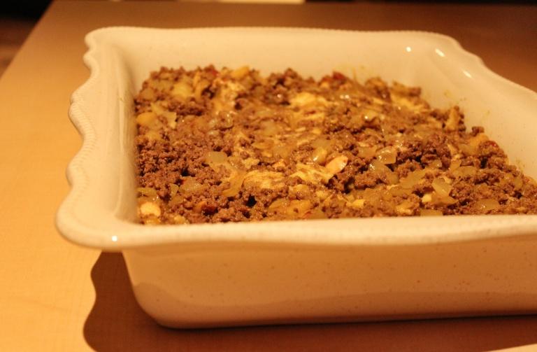 Fried Green Kimchi - Bobotie