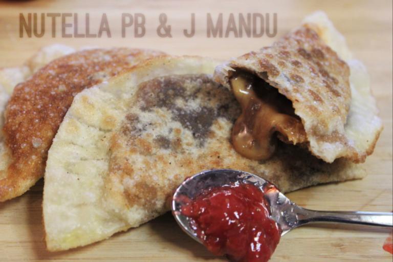 Fried Green Kimchi - Nutella PB & J Mandu