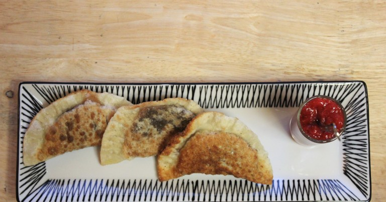 Fried Green Kimchi - Mandu