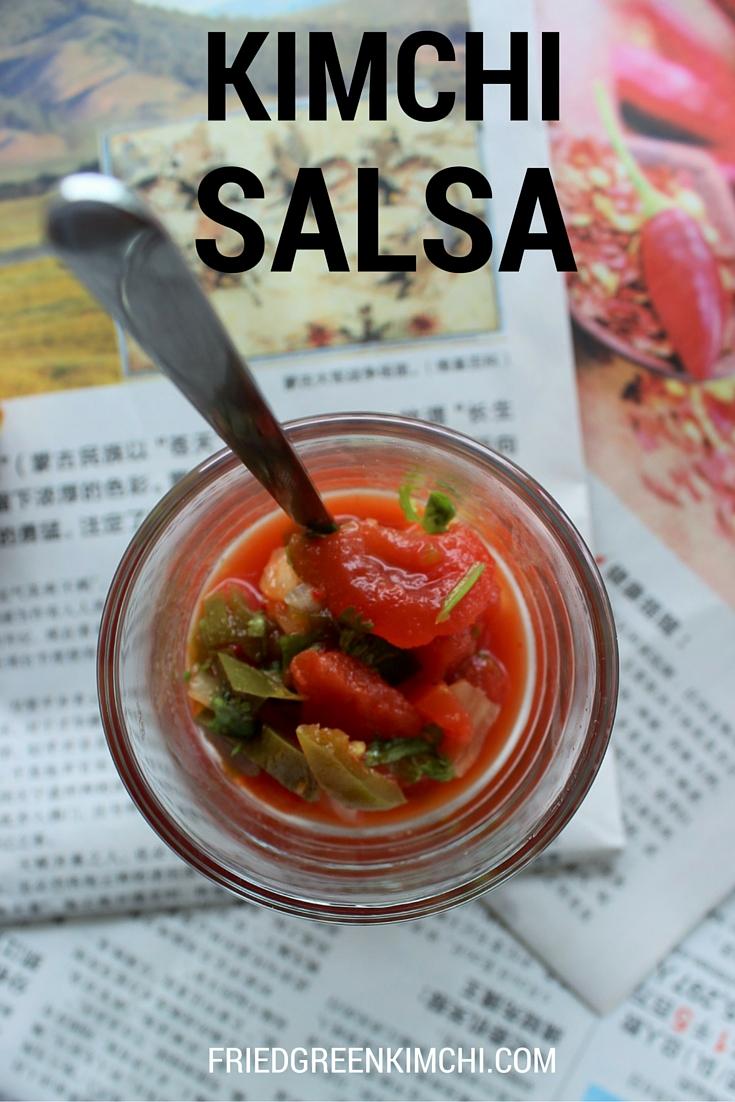 Kimchi Salsa