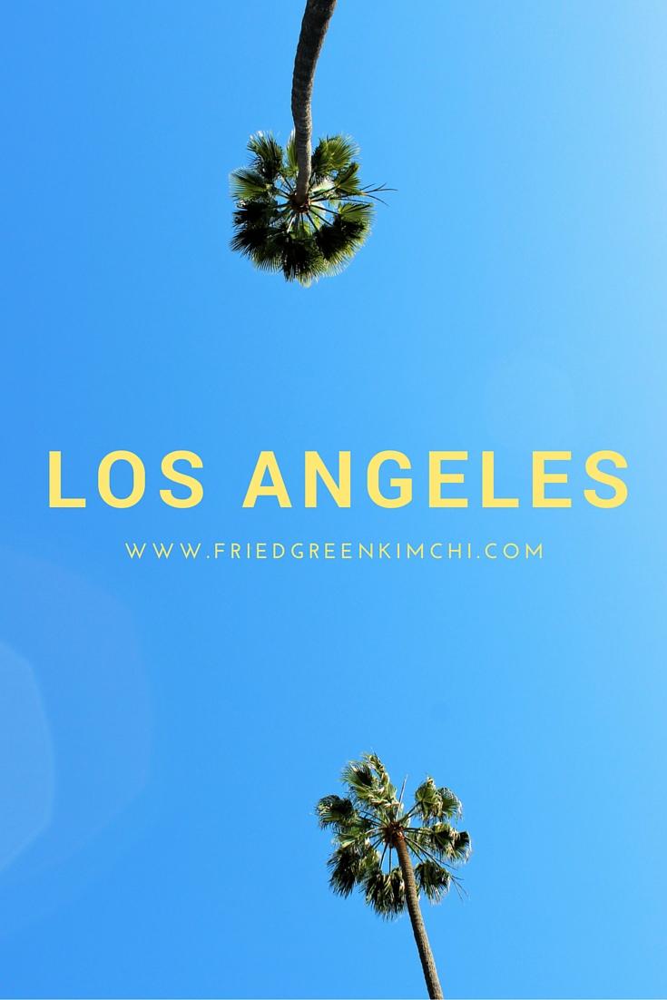 Los Angeles - Fried Green Kimchi