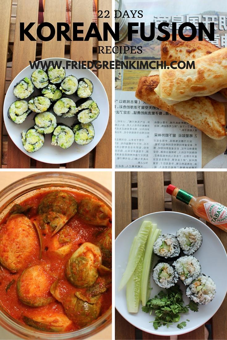Korean Fusion - Fried Green Kimchi