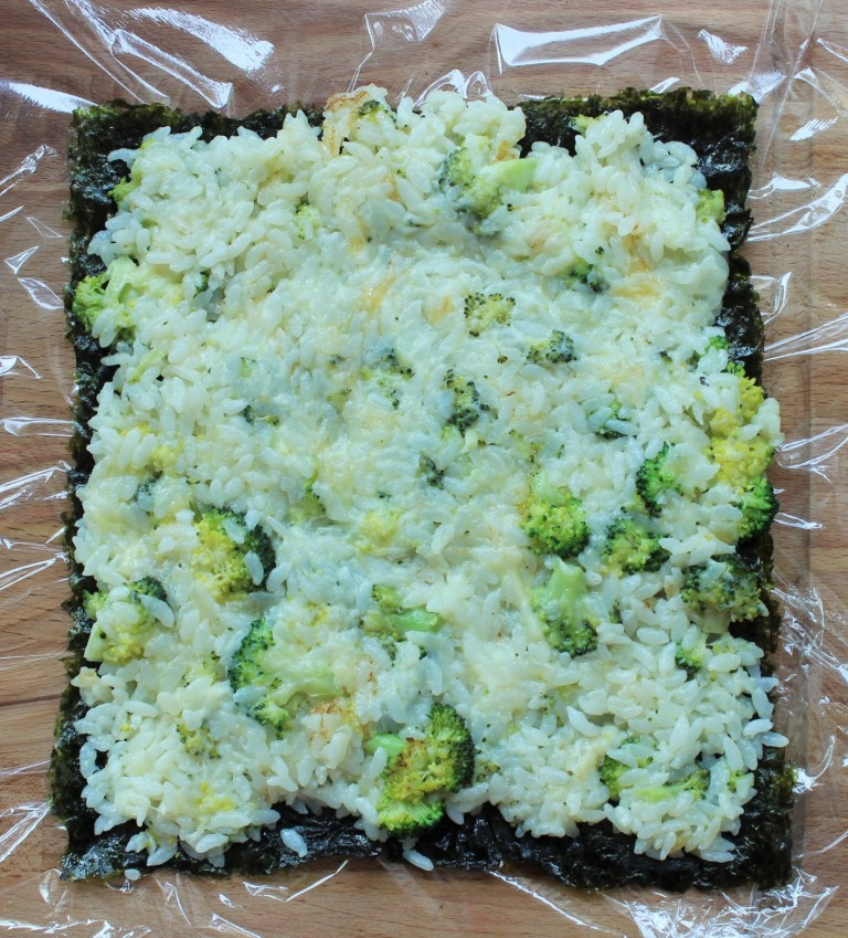Broccoli-Rice Casserole Kimbap - Fried Green Kimchi