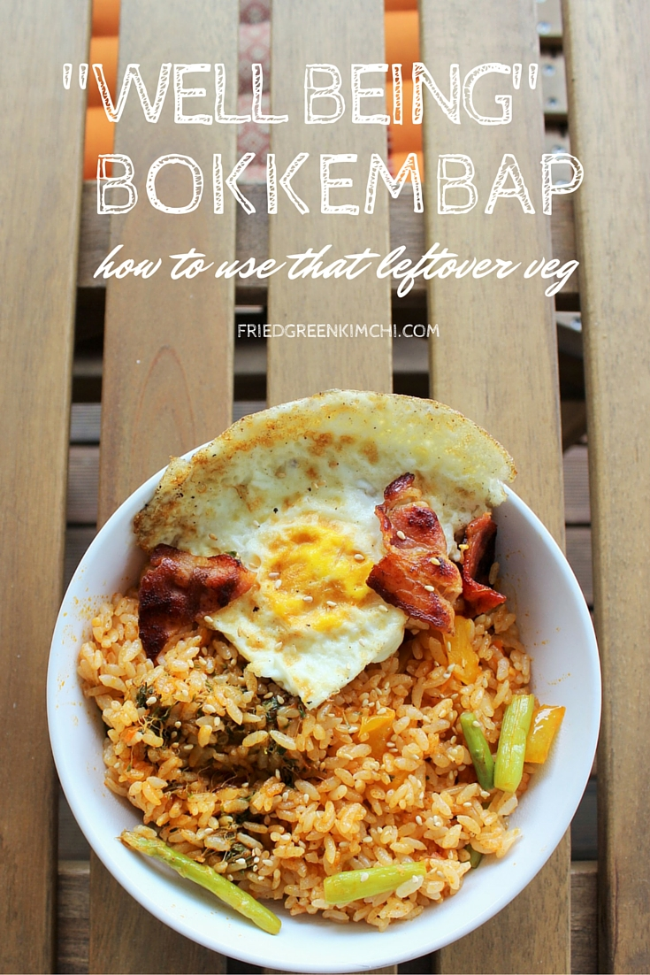 Well Being Bokkembap - Fried Green Kimchi