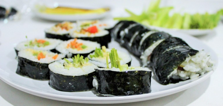 Well Being Kimbap - Fried Green Kimch (4)