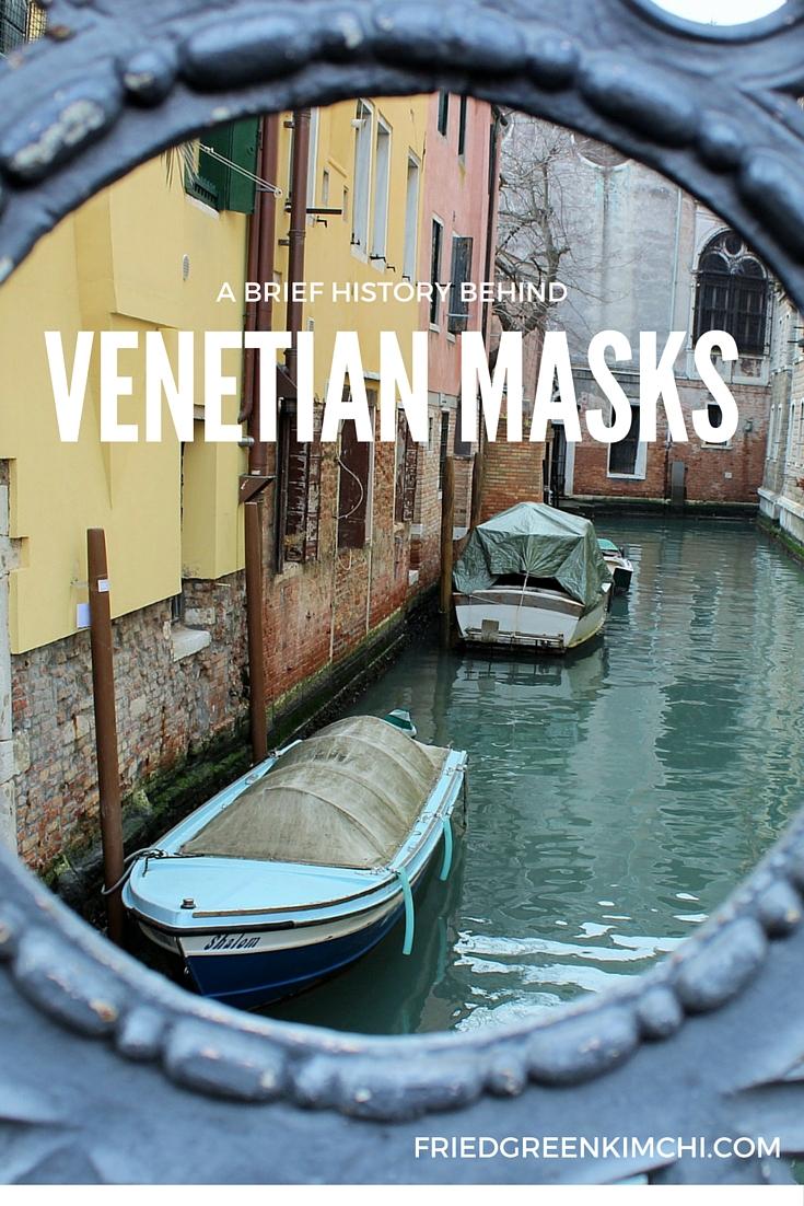 Venetian Masks - Fried Green Kimchi